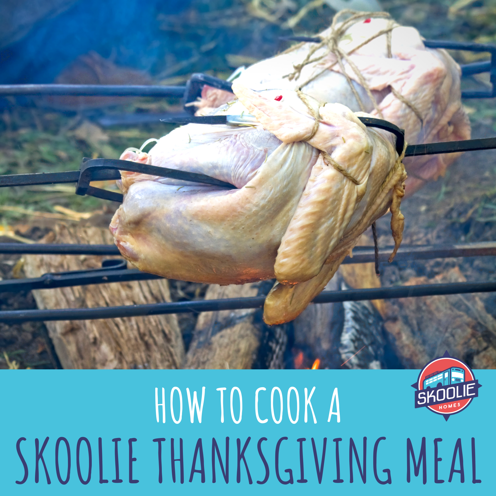 Skoolie Thanksgiving Meal