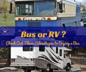 Advantages to buying a bus over traditional motorhome