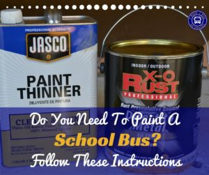 Do You Need to Paint a Bus? Follow These Instructions