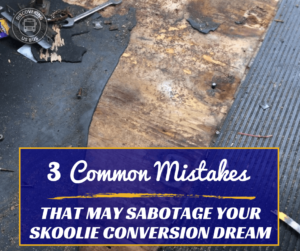 3 Mistakes People Make When Converting a Bus