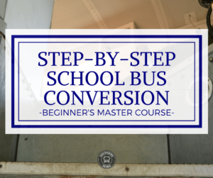 School Bus Conversion Course