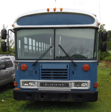 Blue Bird Bus – Fully Gutted