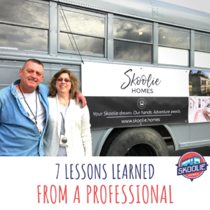 Bus conversion lessons