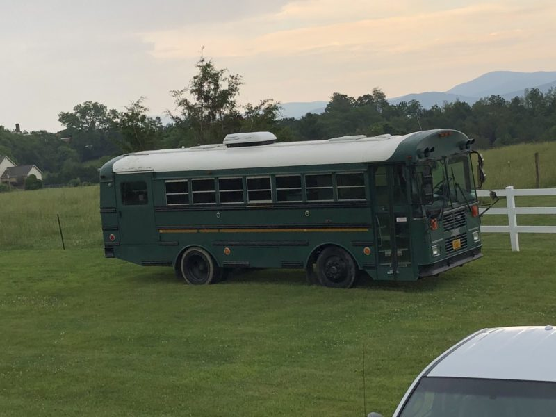2002 Thomas Built converted bus – can't keep in our HOA, reduced $$ to sell!!