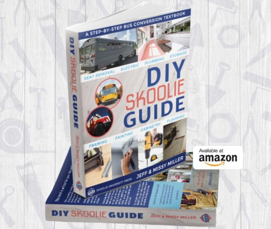 diy skoolie book by skoolie homes